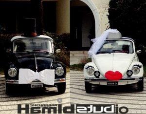 قیمت کرایه ماشین عروس بدون راننده یا با راننده